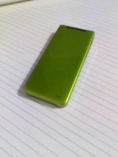 新しい携帯
